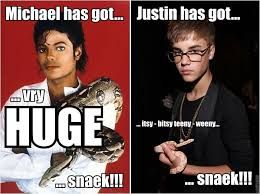 Image result for michael jackson and justin bieber memes