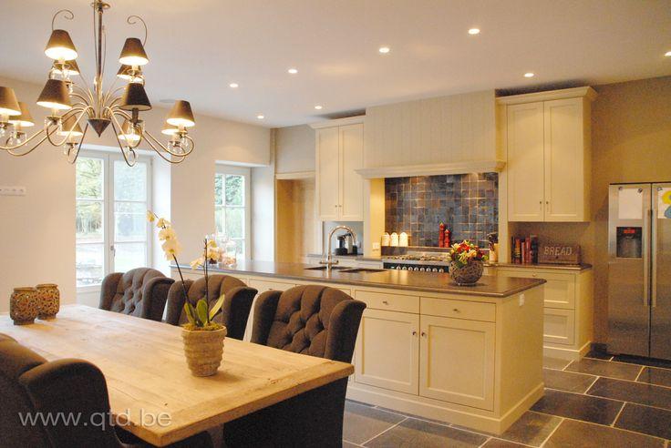 De gezelligheid van een leefkeuken landelijk wonen for Interieur keuken ideeen