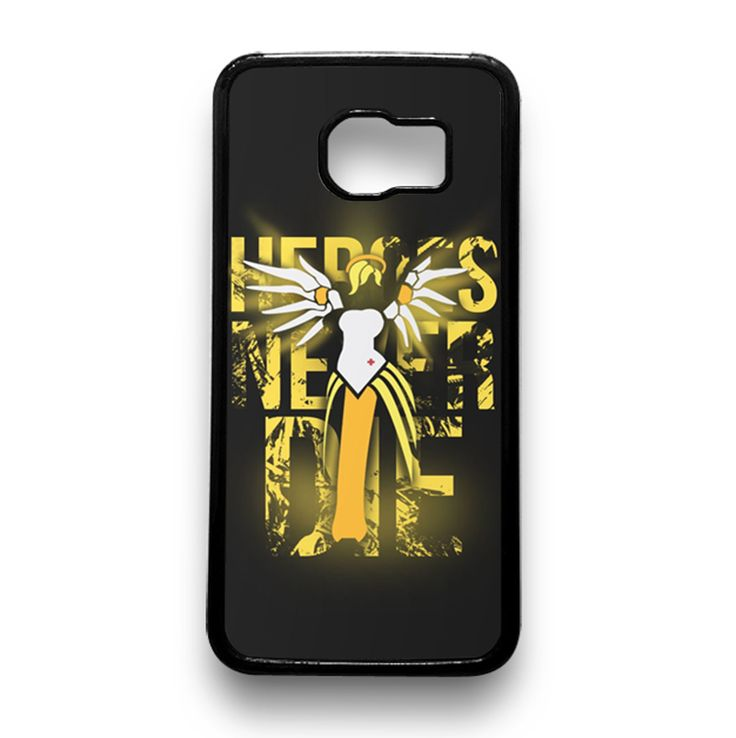 Overwatch Mercy Heroes Never Die Samsung Galaxy Case