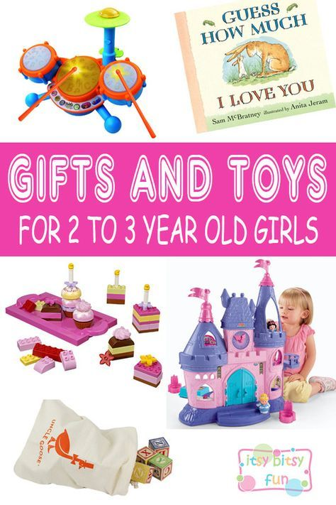 Best Gifts For 2 Year Old Girls. Lots of Ideas for 2nd Birthday, Christmas and 2 to 3 Year Olds