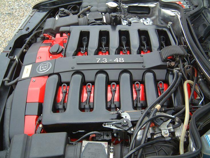 Mercedes benz m120 engine tuned by brabus w124 48valve v12 for Mercedes benz v12 engine