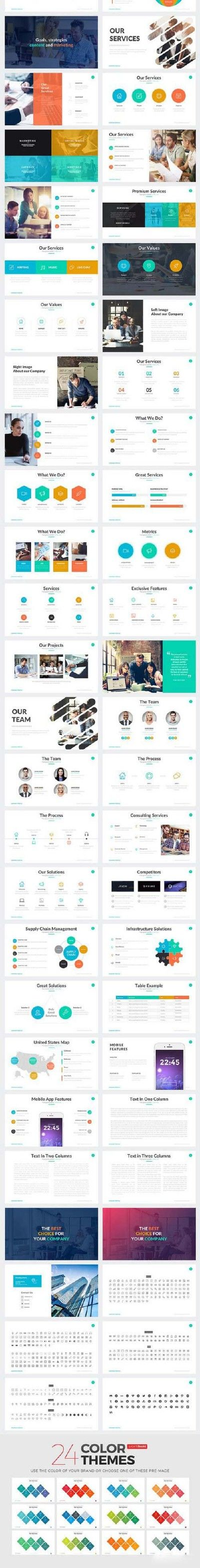 Company Profile Powerpoint Template 800462