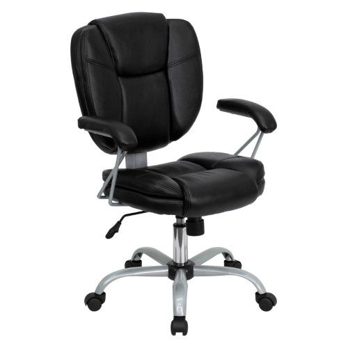 flash furniture midback task and computer chair black cheap computer chairscheap office