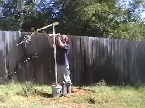 DIY Well Drilling - YouTube