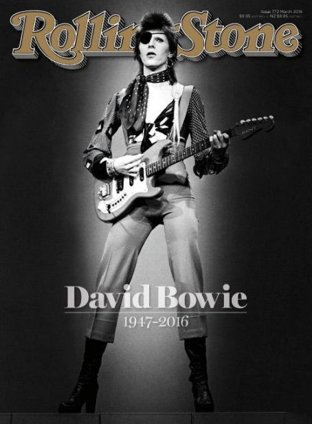 David Bowie - Rolling Stone Magazine Cover [Australia] (March 2016)