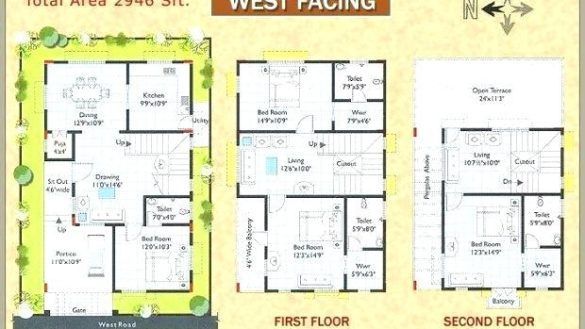 Oconnorhomesinc Com Impressing West Facing House Plan Plans With Vastu Design In 2020 West Facing House How To Plan House Plans