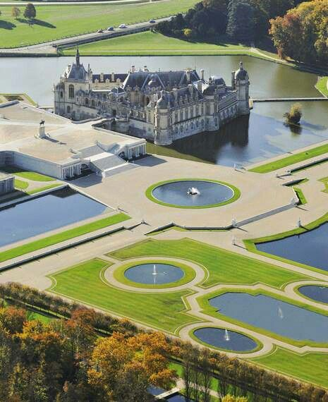 Chantilly, Oise, Picardy, France.