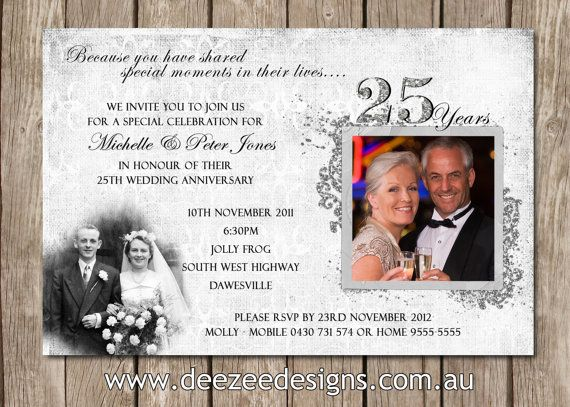 10th Wedding Anniversary Invitations: 1000+ Ideas About Anniversary Invitations On Pinterest