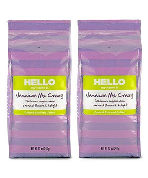 Wake up to the aroma of freshly brewed coffee! This deliciously smooth ground coffee is infused with a rich cognac and creamy caramel flavor.