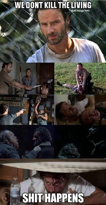 #TWD Maybe you end up having to? :  