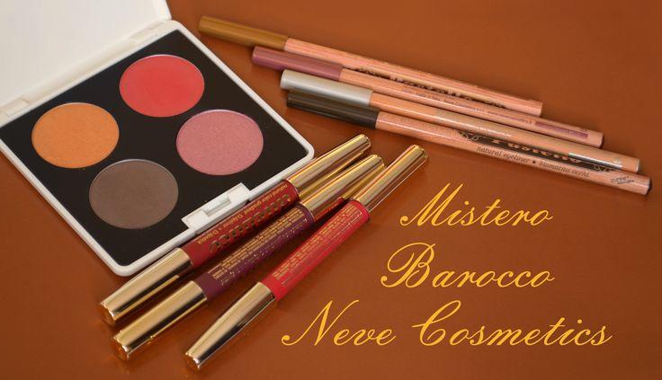 Mistero Barocco, collezione ed. limitata 2014 Neve Cosmetics www.vecchiabottega.it