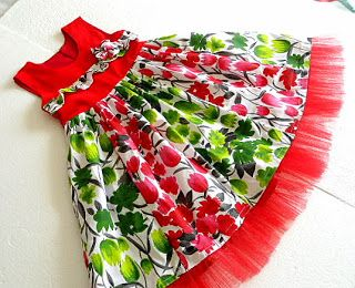 Sewing Patterns #Girls #Dress #Christmas Dress #Sewing #Tutorial for Girls #Paneled Dress #party dress #holiday dress
