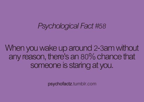 creepy???