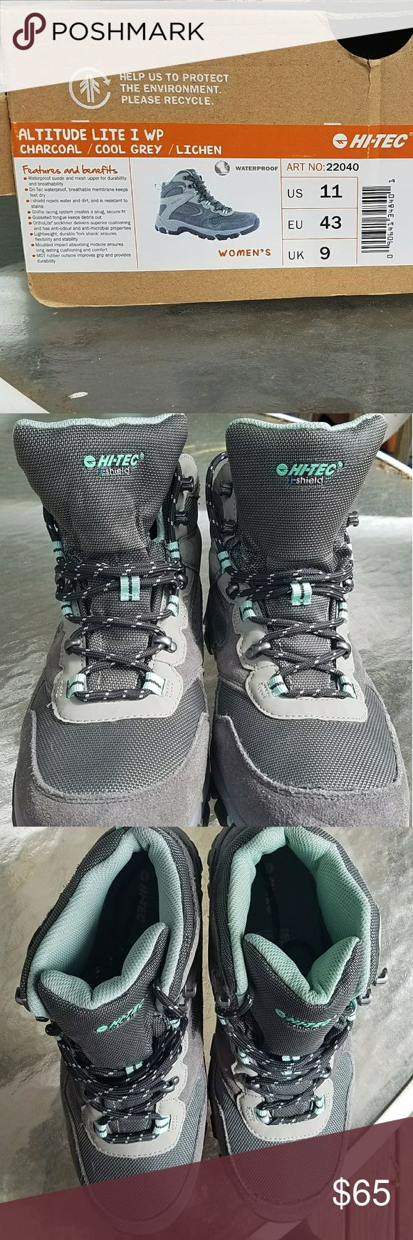 HI TEC Hiking boots BRAND NEW STILL IN BOX HIKING BOOTS Hi-Tec Shoes Lace Up Boots