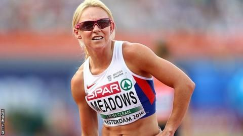 Rio 2016: Jenny Meadows retires after injury ends Olympic hopes - BBC Sport