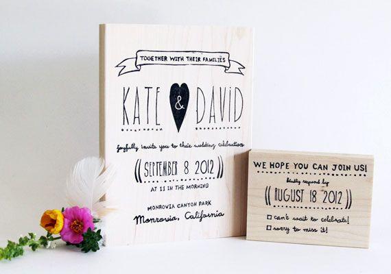 Invite/Reply card stamp