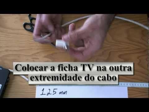 Antena TDT - Como Fazer uma Antena tdt Caseira em 5 minutos