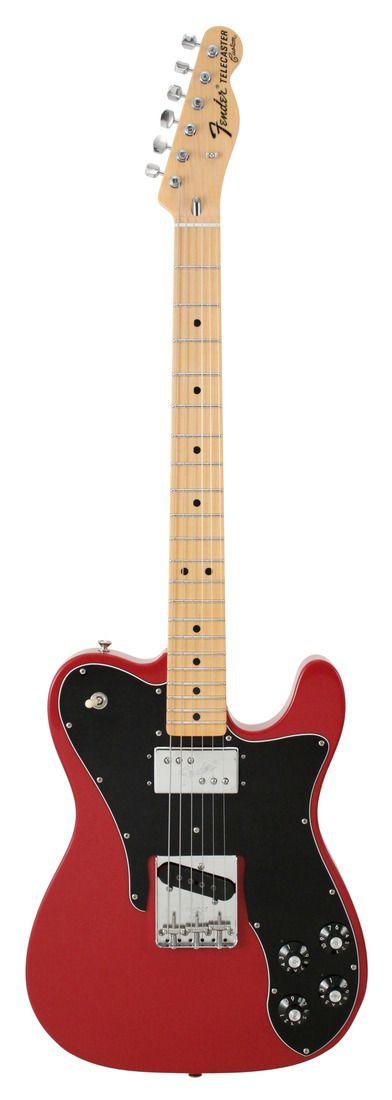 Fender Custom Shop 1972 Telecaster Custom, Dakota Red