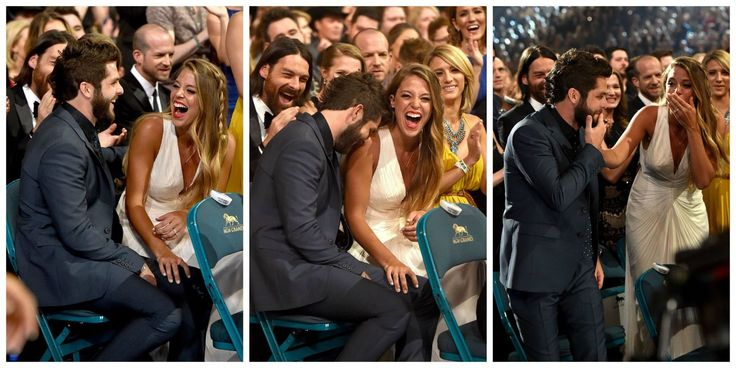 12 Photos That Prove Thomas Rhett and Lauren Akins Are The Cutest Couple Ever