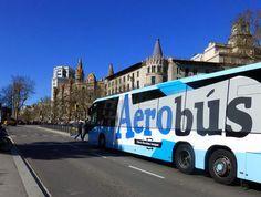 aerobus aeroport centre ville barcelone