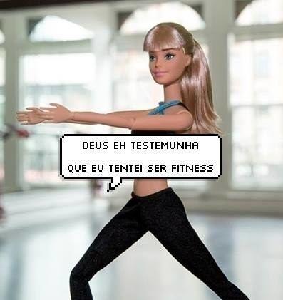 Esta Barbie é basicamente você naquela semana que tentou cortar carboidratos e ir na academia.