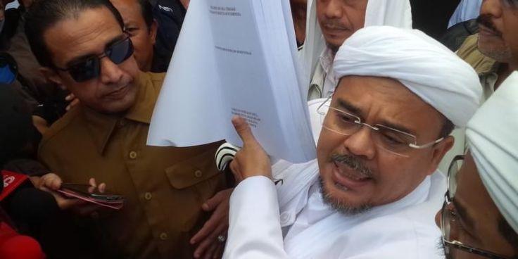 Ahok Ditahan, Apa Kabar Laporan Dugaan Penodaan Agama oleh Rizieq? - Kompas.com