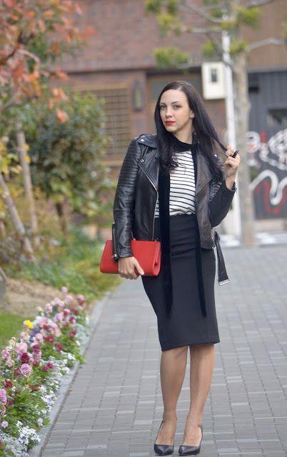 little but great things by Elena Take: тельняшка с юбкой и вопрос сумки!