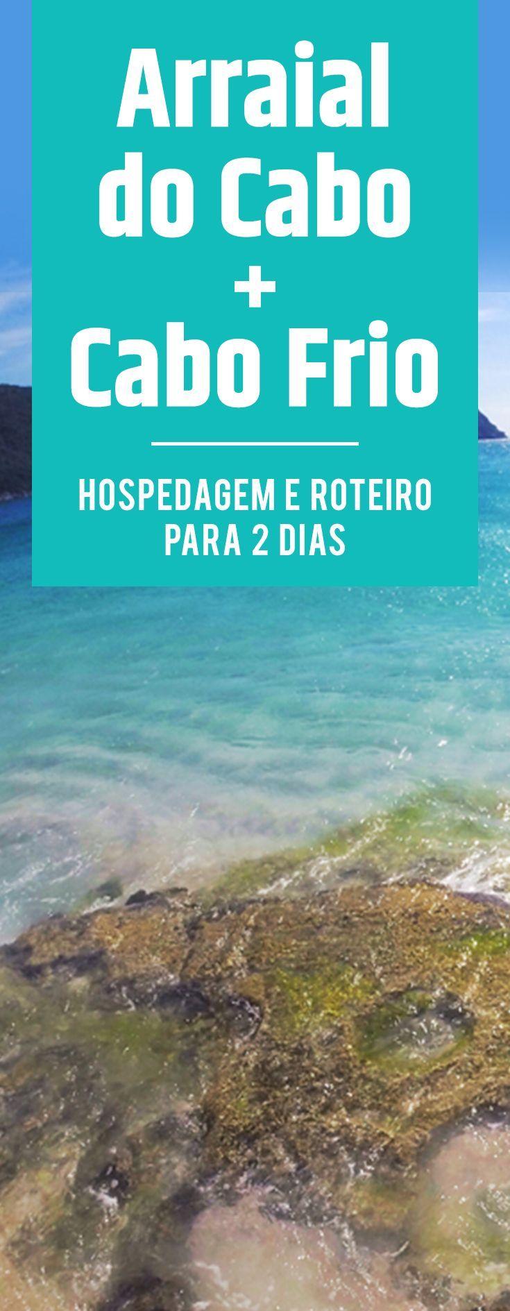 Arraial do Cabo e Cabo Frio são os dois melhores destinos na região dos lagos, no Rio de Janeiro. Aqui você encontra dicas de roteiro para aproveitar os dois locais, e ainda dicas de onde se hospedar! #arraialdocabo #cabofrio #riodejaneiro #viagem #roteiro #hospedagem