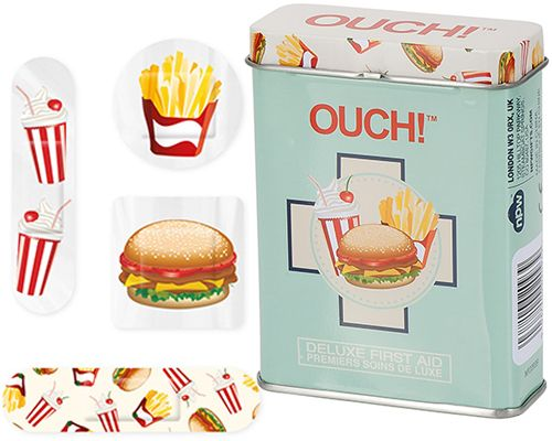 Ouch! Fast Food Bandages