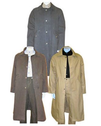 Frontier Classics® Men's Bushwacker Duster Coat::Men's Clothes::Old West Shop::Fort Western Online