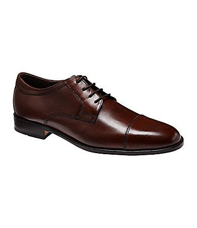 Johnston and Murphy Emmert CapToe Oxfords #Dillards