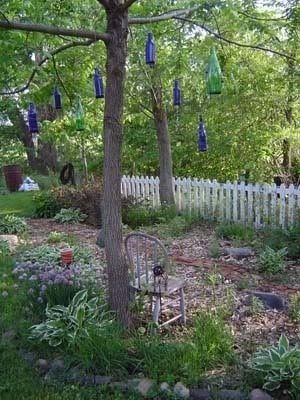 I am looking for a flower garden layout to make in the woods at the OR