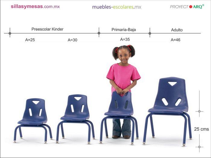 32 best arq dimensiones images on pinterest buscando for Medidas sillas ninos