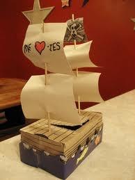 pirate's valentine box for school