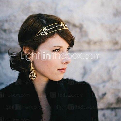 Damen/Blumenmädchen Kopfschmuck Hochzeit/Besondere Anlässe/Freizeit Stirnbänder Perle Hochzeit/Besondere Anlässe/Freizeit 1 Stück - EUR €5.99