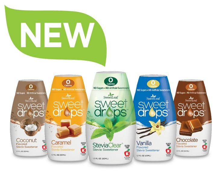 SweetLeaf® 50ml Liquid Stevia Sweet Drops™ | SweetLeaf®