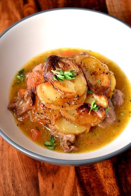 LANCASHIRE HOTPOT ~~~ recipe gateway: this post's link uses leftover lamb AND the traditional version can be found at http://www.theguardian.com/lifeandstyle/wordofmouth/2013/oct/31/how-to-cook-perfect-lancashire-hotpot [England, Lancashire] [frugalfeeding] [theguardian]
