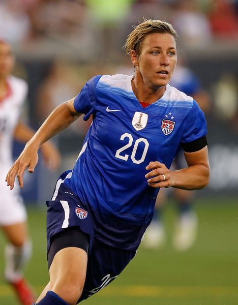 Abby Wambach vs. Costa Rica, Chattanooga, Tenn., Aug. 19, 2015. (Mike Zarrilli/Getty Images North America)