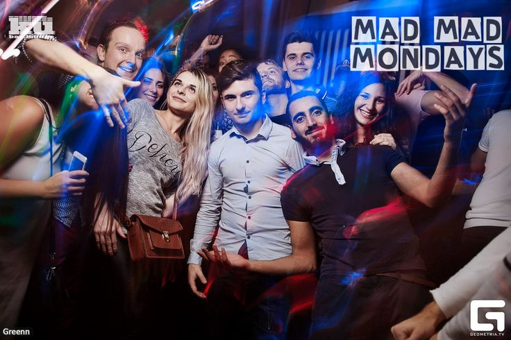 #madmadmonday - the best student party in Prague at #kubarlounge