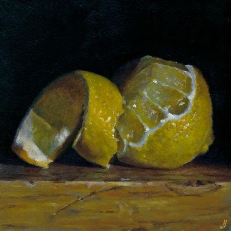 Jeffrey Hayes: Print: Peeled Lemon