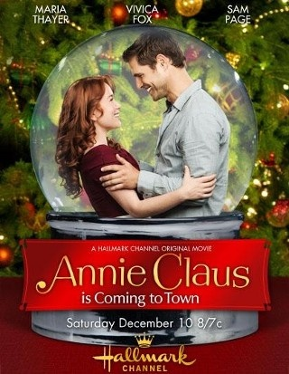 I am watching #AnnieClausIsComingToTown  Starring #MariaThayer, #VivicaFox and #SamPage  #HallmarkChannel #CountdowntoChristmas #ChristmasMovies #TheHeartofTV