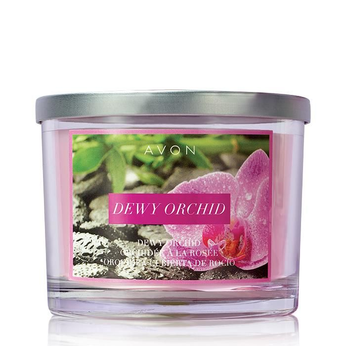 81 best avon candles images on pinterest avon products scented spring is in the air with his new scent the dewy orchid candle has notes of bergamot sea salt green tea lotus and bamboo sciox Images