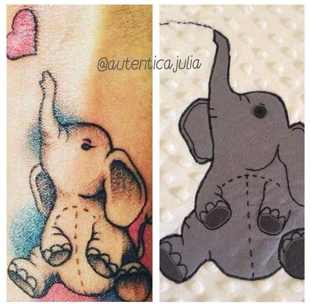 🐘¿Que os parece convertir un tatuaje en un producto para esa personita especial? 🐘A mí me ha parecido preciosa la idea de Raquel @mayo_dulce22 que siempre me reta para crear #boniteces tan originales como esta.... En realidad no sé si el tatuaje es de ella o de la persona a la que se la regaló ... En cualquier caso me parece una idea genial y llena de simbolismo para ambas.... Mañana os enseño el resultado final al completo😉 Gracias Raquel!
