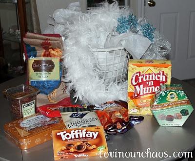 108 best images about baskets of goodies on pinterest. Black Bedroom Furniture Sets. Home Design Ideas