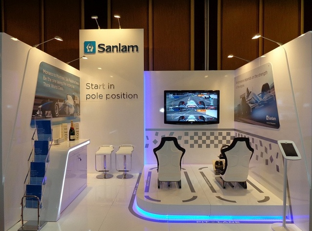 Sanlam Exhibition Stand at PSG 2013 by XZIBIT 2 | Flickr - Photo Sharing!
