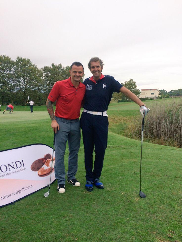 Gara Raimondi con Simone Pepe ⛳️🏌🏌️♀️👞   #Raimondi #raimondigolfshoes #golf #shoes #golfshoes #italianstyle #handmadeinitaly #italy #originali #madeinitaly #miglianicogolfclub