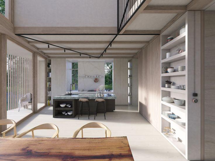 8 best ekkist blueprint ori house images on pinterest ekkist ori house blueprint kitchen detailing featuring british stone worktops and splash backs open malvernweather Image collections