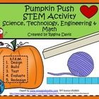 $ - Pumpkin Push S.T.E.M. Activity....Science, Technology, Engineering, and Math.  Great for October or November--Enjoy! Regina Davis aka Queen Chaos at Fairy Tales And Fiction By 2.