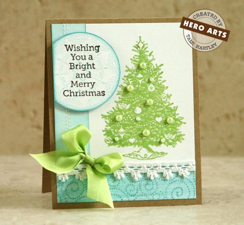 #christmas #cardsChristmas Cards Crafts, Cards Ideas, Cards Christmas, Holiday Cards, Cardmaking Christmas, Tami Hartley, Heroes Art, Christmas Trees, Diy Christmas Cards