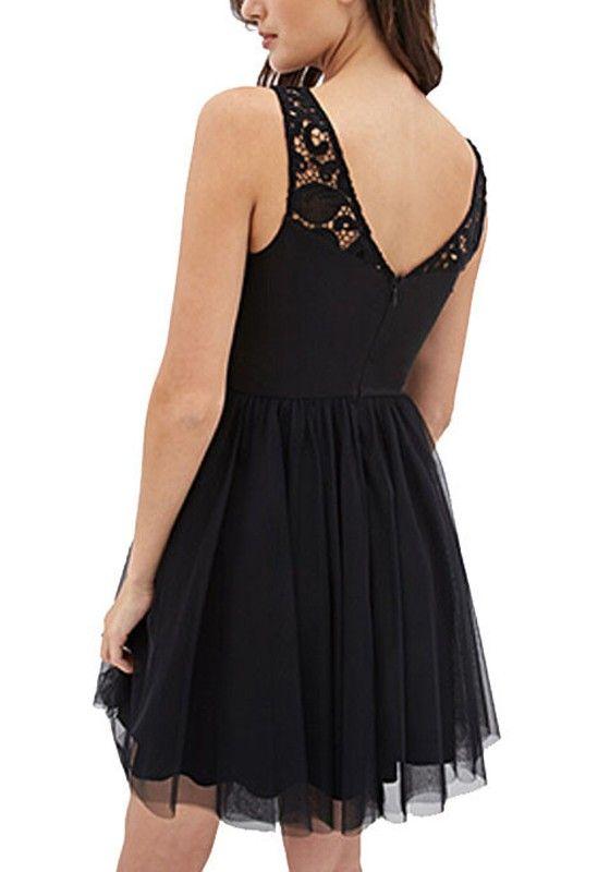 Kleider kurz festlich schwarz